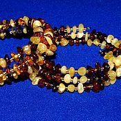 Украшения handmade. Livemaster - original item The spiral bracelet made of amber.. Handmade.