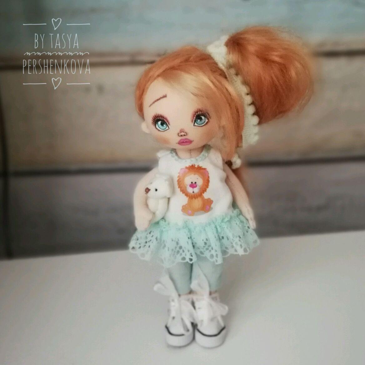 Куколка Алёнка текстильная интерьерная, Куклы и пупсы, Москва,  Фото №1