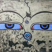 Картины и панно handmade. Livemaster - original item Loving Eyes.. Handmade.