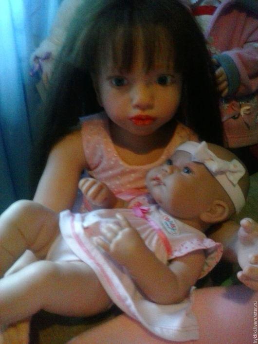 Куклы-младенцы и reborn ручной работы. Ярмарка Мастеров - ручная работа. Купить Маргарита. Handmade. Бежевый, юбилей, авторские куклы