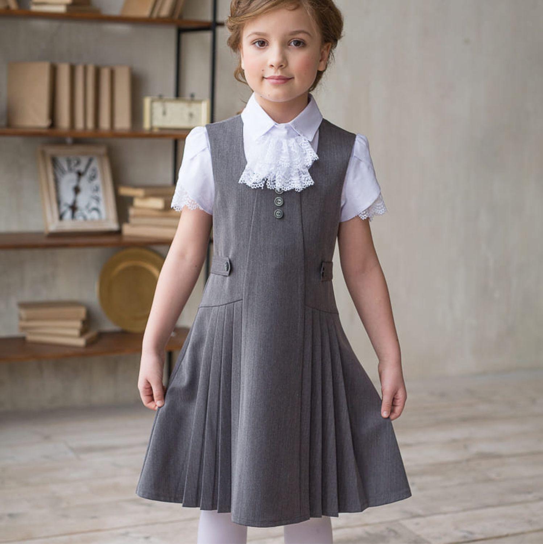 982183c8d379 Одежда для девочек, ручной работы. Ярмарка Мастеров - ручная работа. Купить  Школьная форма ...