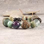 Украшения handmade. Livemaster - original item A bracelet made of beads: Peace. Handmade.