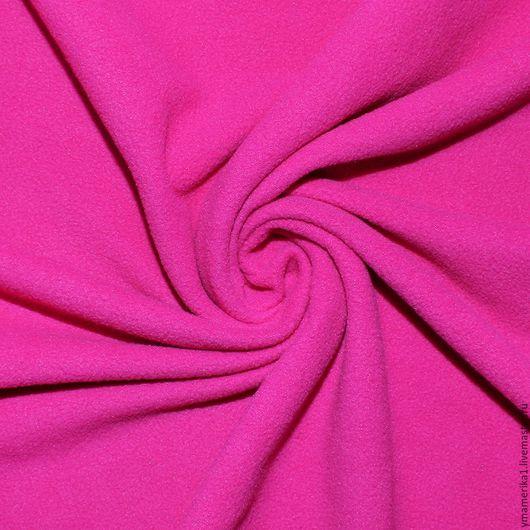Шитье ручной работы. Ярмарка Мастеров - ручная работа. Купить Американский флис однотонный розовый. Handmade. Однотонная ткань