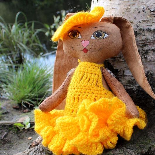 Ароматизированные куклы ручной работы. Ярмарка Мастеров - ручная работа. Купить Интерьерная кукла Зайка Лизаветта. Handmade. Зайка игрушка