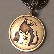 Сувениры и подарки handmade. Livemaster - original item Keychain Rat / Mouse Banksy BANKSY-in the year of the Rat 2020. Handmade.