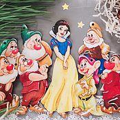 Куклы и пупсы ручной работы. Ярмарка Мастеров - ручная работа Белоснежка и семь гномов. Handmade.