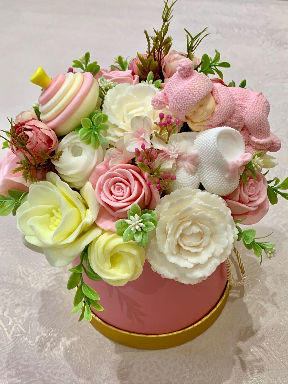 Купить, букет цветов из детского мыла купить