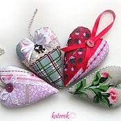 Подарки к праздникам ручной работы. Ярмарка Мастеров - ручная работа Яркие сердечки. Handmade.