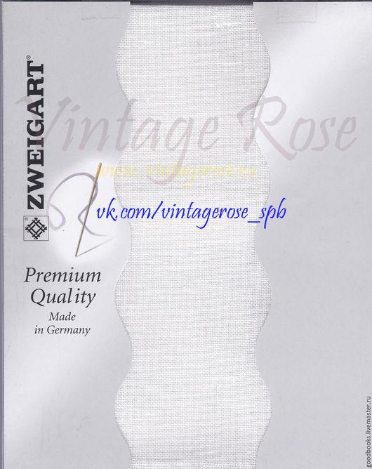 Вышивка ручной работы. Ярмарка Мастеров - ручная работа. Купить Лен упаковке 3281/101 Cashel 28ct Antique White (Молочный). Handmade.