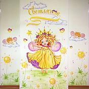 Декор ручной работы. Ярмарка Мастеров - ручная работа Роспись стен: Светлячок. Handmade.