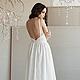 Платье, платье вечернее, белое платье, платье невесты, кружевное платье