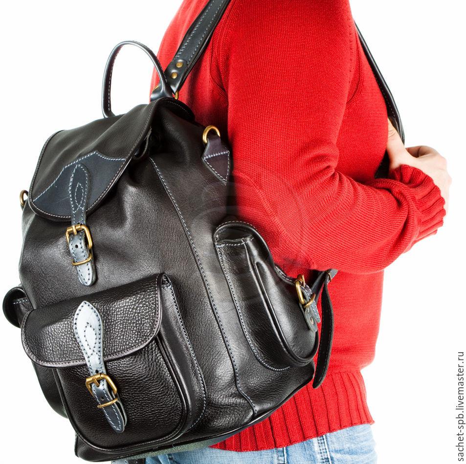 1932e0ee6c0d Кожаный рюкзак