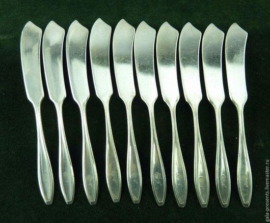 Винтажная посуда. Ярмарка Мастеров - ручная работа. Купить Антикварные ножи/масла, Англия, антикварные столовые приборы.. Handmade.
