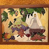 """Картины и панно ручной работы. Ярмарка Мастеров - ручная работа Натюрморт """"Южный десерт"""". Handmade."""
