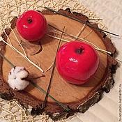 Для дома и интерьера ручной работы. Ярмарка Мастеров - ручная работа Керамическое яблочко. Handmade.