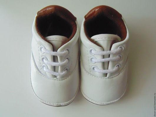 Куклы и игрушки ручной работы. Ярмарка Мастеров - ручная работа. Купить Ботинки для кукол №1. Handmade. Комбинированный, обувь, ботиночки