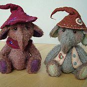 Куклы и игрушки ручной работы. Ярмарка Мастеров - ручная работа Двое в шляпах. Handmade.