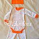 Одежда ручной работы. Комплект одежды для малыша. Анастасия (-danilina). Интернет-магазин Ярмарка Мастеров. Рисунок, шапочка для малыша