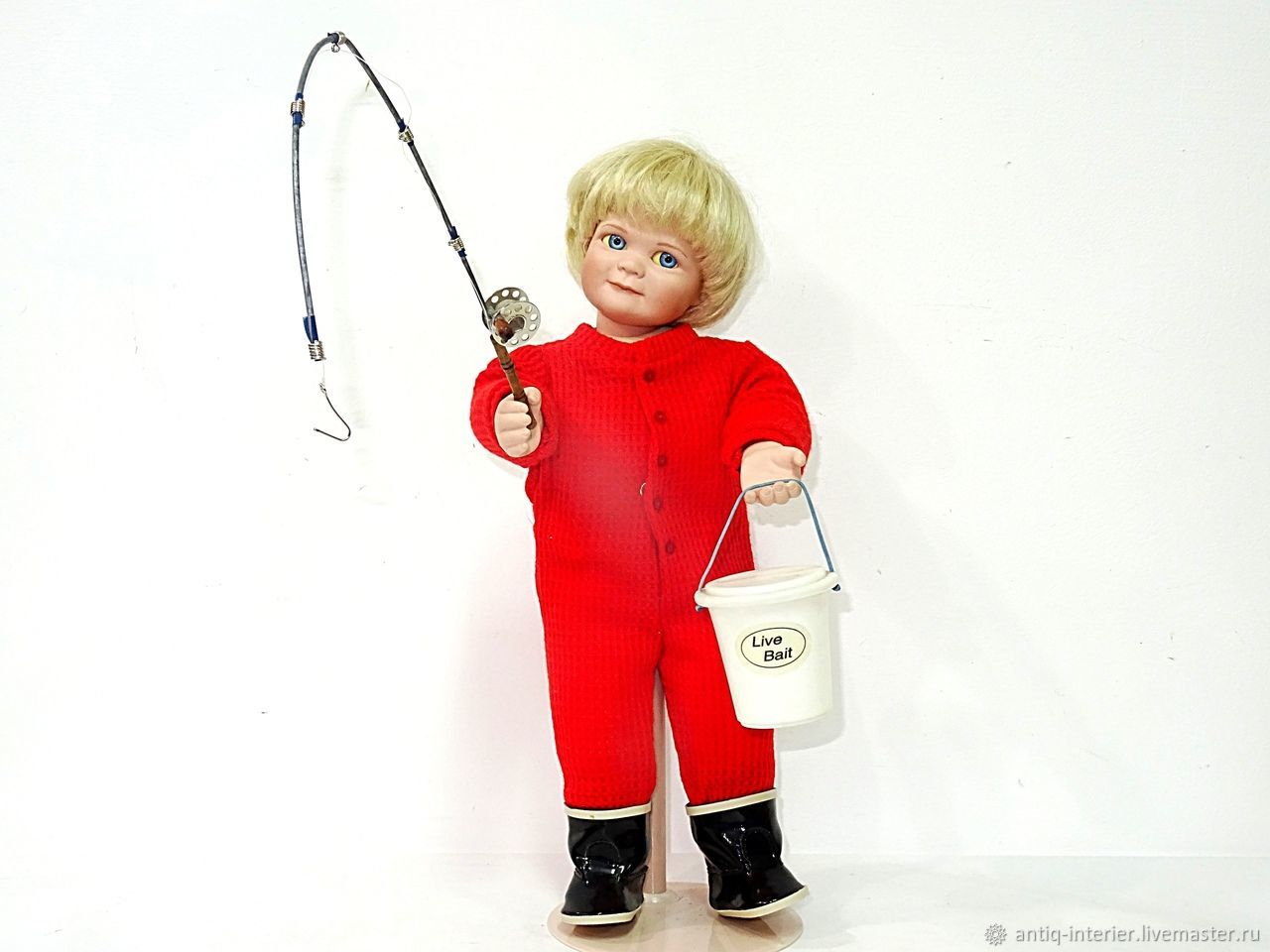 Винтаж: Фарфоровый малыш Ashton Drake, Автор Mary Tretter, Куклы винтажные, Калининград,  Фото №1