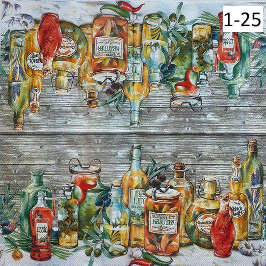 Декупаж и роспись ручной работы. Ярмарка Мастеров - ручная работа. Купить 1-25. Салфетки для декупажа. Масла и специи. Handmade.