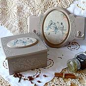 Для дома и интерьера handmade. Livemaster - original item Kitchen set. Set for kitchen. Birdsong. Handmade.