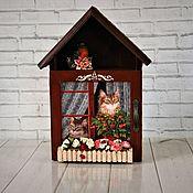 Для дома и интерьера handmade. Livemaster - original item Home is where the heart is 2. Handmade.