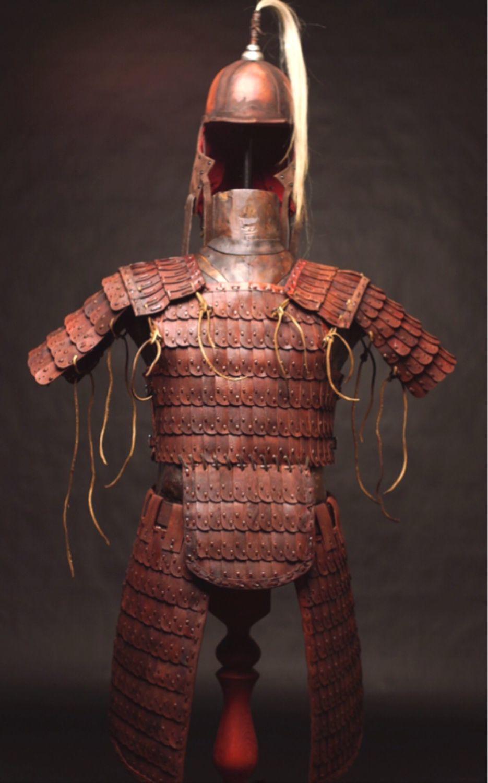 Set of lamellar leather armor, Armour, St. Petersburg,  Фото №1