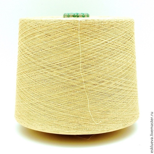 """Вязание ручной работы. Ярмарка Мастеров - ручная работа. Купить Хлопок """"MAKO"""". Handmade. Абрикосовый, хлопковая пряжа, итальянская пряжа"""