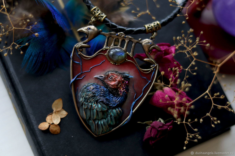 Collier ' Phasianus colchicus', Necklace, Vladimir,  Фото №1