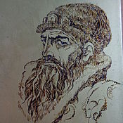 Сувениры и подарки handmade. Livemaster - original item Portrait on metal with a gold coating, a portrait from a photo. Handmade.