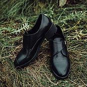 Обувь ручной работы. Ярмарка Мастеров - ручная работа Полуботинки Next изумруд. Handmade.