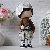 Тыквоголовка ручной работы. Ярмарка Мастеров - ручная работа Кукла мальчик интерьерная Джек. Handmade.