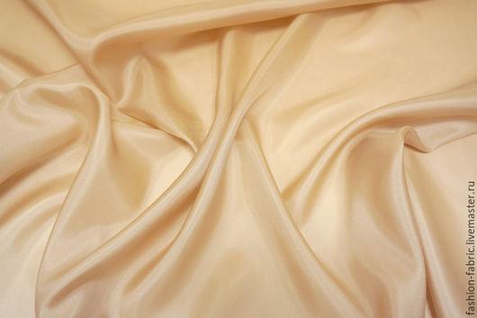 Шитье ручной работы. Ярмарка Мастеров - ручная работа. Купить Ткань Шелк подкладочный персиковый PRT 16081608 Италия Цена за метр. Handmade.