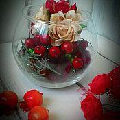 Цветы и флористика ручной работы. Ярмарка Мастеров - ручная работа Мини-букетик. Handmade.