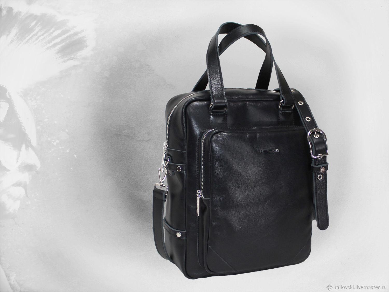 Leather men bag – shop online on Livemaster with shipping - I6KUZCOM ... 31ba370c80d2d