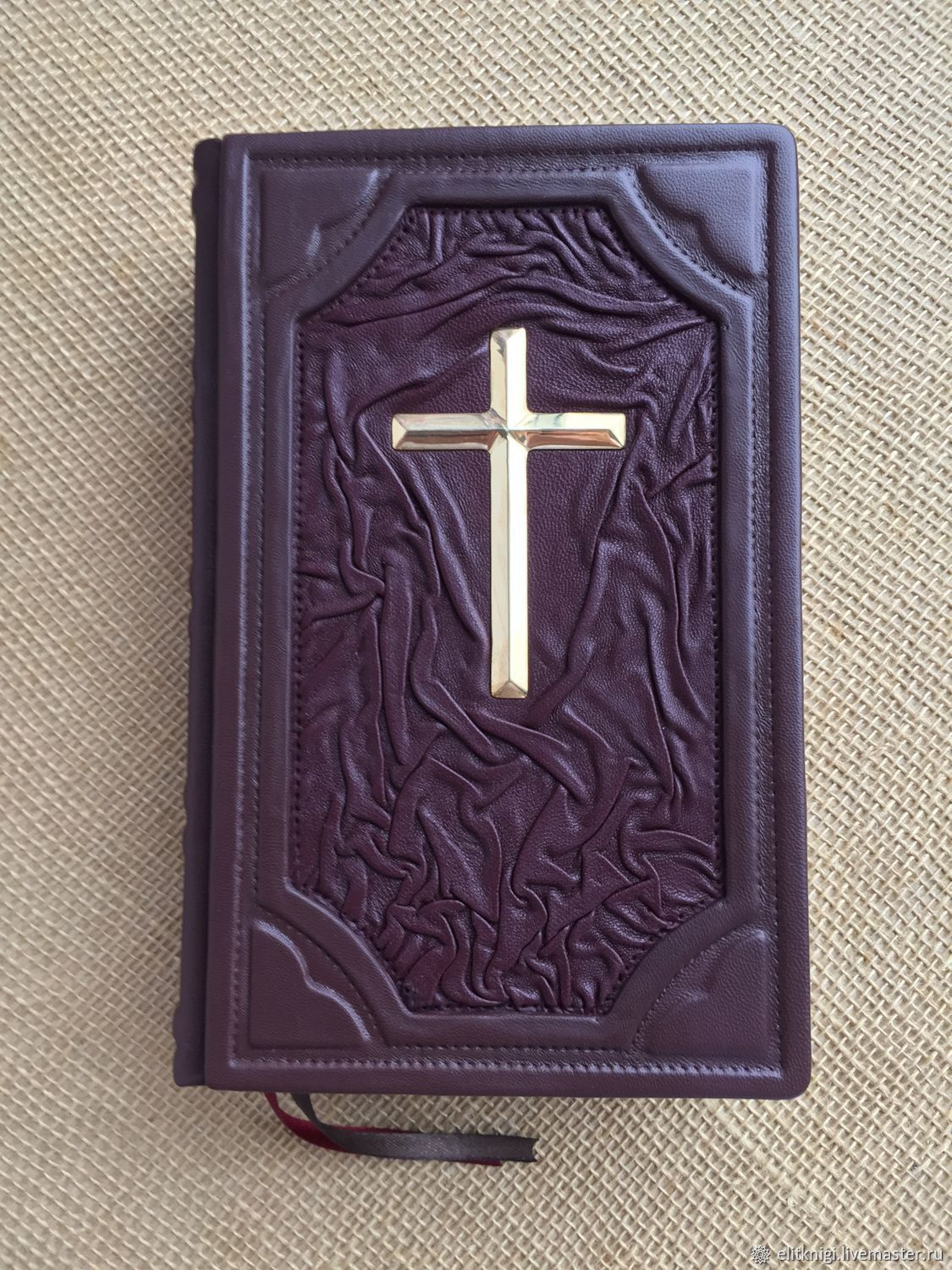 The Bible Getse - book gift bound in leather, Vintage books, Moscow,  Фото №1