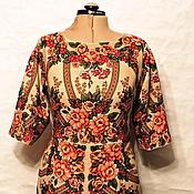 Одежда ручной работы. Ярмарка Мастеров - ручная работа Платье Букет Роз из платков. Handmade.
