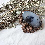 Украшения handmade. Livemaster - original item Copper brooch