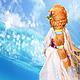 Коллекционные куклы ручной работы. Кукла Флора. Ольга Шустова. Ярмарка Мастеров. Кукла в подарок, синтипон