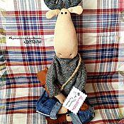 Куклы и игрушки ручной работы. Ярмарка Мастеров - ручная работа Стильный лось. Handmade.