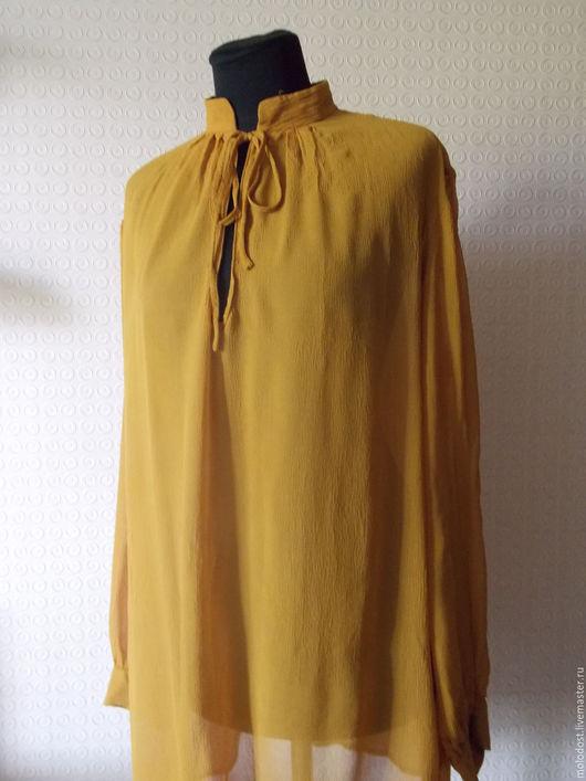 Одежда. Ярмарка Мастеров - ручная работа. Купить Блузка. H&M. Размер 42. Шелк 100%. Handmade. Шелк натуральный