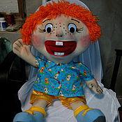 Куклы и игрушки ручной работы. Ярмарка Мастеров - ручная работа Рыжий-рыжий-конопатый. Кукла логопедическая.. Handmade.