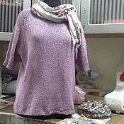 Одежда ручной работы. Ярмарка Мастеров - ручная работа джемпер оверсайз Хейворд. Handmade.
