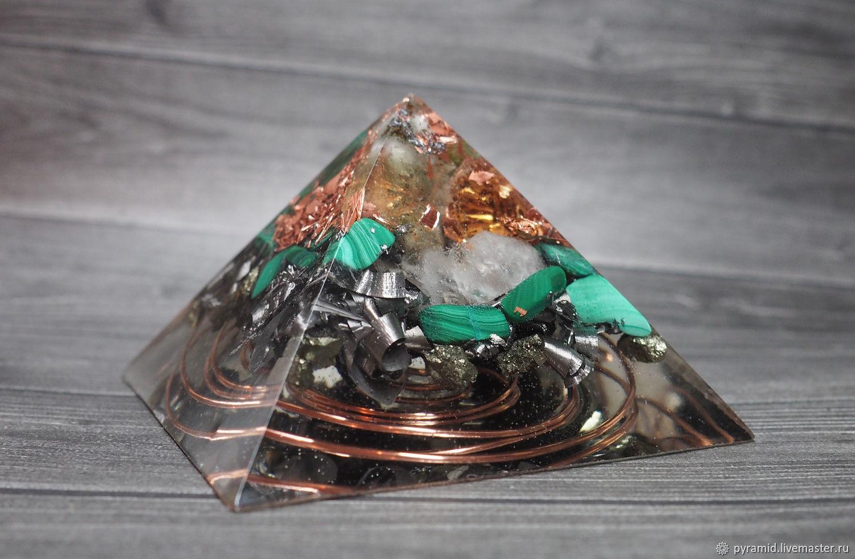 """Пирамида """"Оргонит"""" с фантомным кристаллом и спиралью, Пирамида, Москва,  Фото №1"""