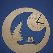 Для дома и интерьера ручной работы. Ярмарка Мастеров - ручная работа часы мальчик и девочка. Handmade.