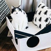 Домик для животных в скандинавском стиле