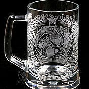 Посуда handmade. Livemaster - original item The Hammer and sickle. Beer mug. Handmade.