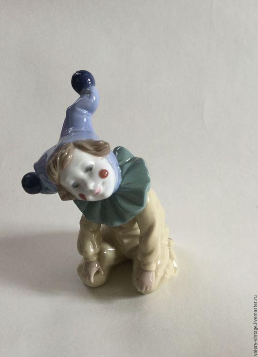 Винтажные сувениры. Ярмарка Мастеров - ручная работа. Купить Винтажный клоун, Nao, Ladro, 1988г, Испания.. Handmade. Nao, винтаж