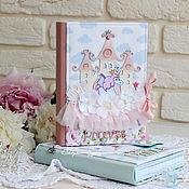 """Канцелярские товары ручной работы. Ярмарка Мастеров - ручная работа Малышкина книжка """"Маленькая Принцесса"""". Handmade."""