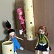 Коллекционные куклы ручной работы. Ярмарка Мастеров - ручная работа. Купить Агнес ,Эдит и Марго. Handmade. Лимонный, эдит, расческа